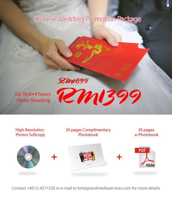 Chinese Wedding Special Package
